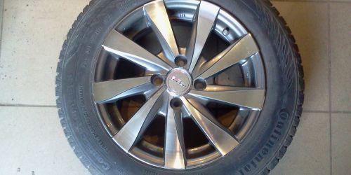 Racing Line 14 col könnyűfém felni 4x100 + Continental ContiEcocontact 3 165/70 R14 gumi Ft/4db Suzuki Swift 2005-2010, Ignis, Opel Astra 50000Ft