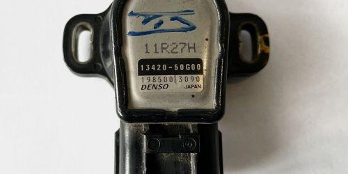1990-> Suzuki Swift, Wagon R+ - Fojtószelep érzékelő Suzuki Swift 1,0-1,3 - Wagon R 1,0 Fojtószelep potméter - Denso Eredeti Suzuki alkatrész: 13420-50G00  4999Ft